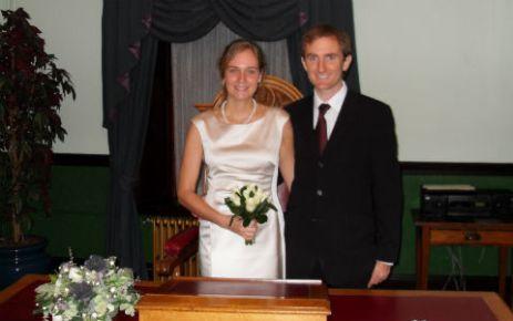 Graham Gristwood and Fanni Gyurkó