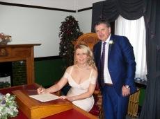 Colin McFadyen and Jillian Gray